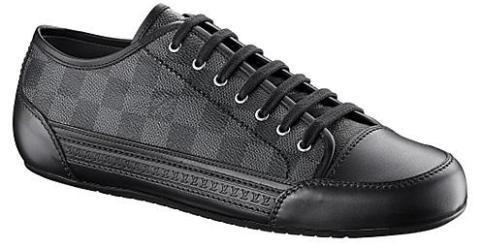 11697f422b5c Louis Vuitton Damier Graphite Sneakers  - Fall Winter 09 Look ...